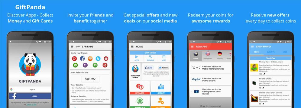 free App promotion: Screenshots for ASO